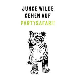 Party Set Wilde Tiere