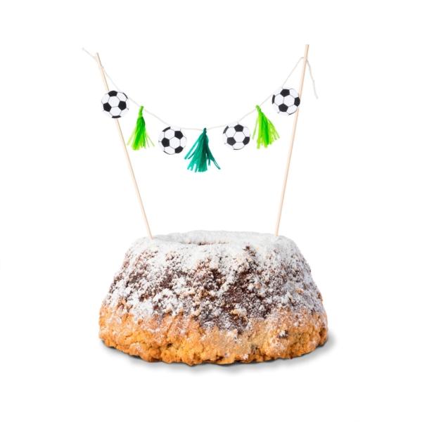 Cake-Topper-Fußball-Kuchen