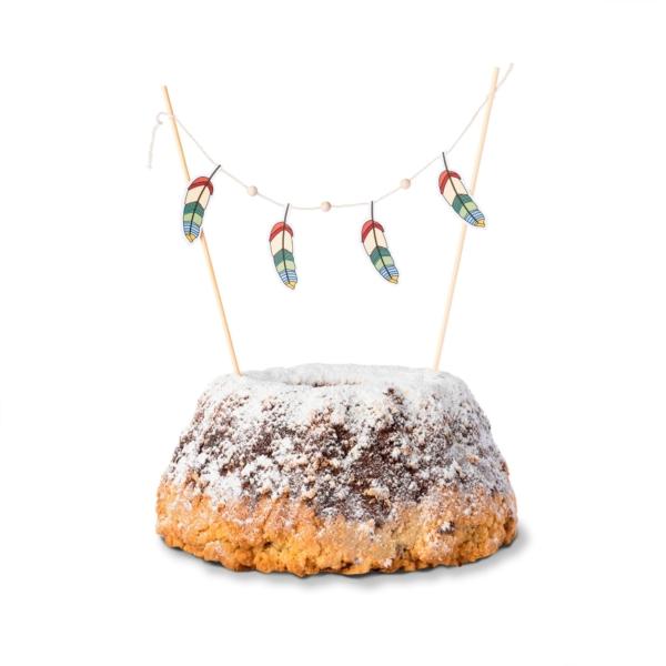 Cake-Topper-Indianer-Kuchen