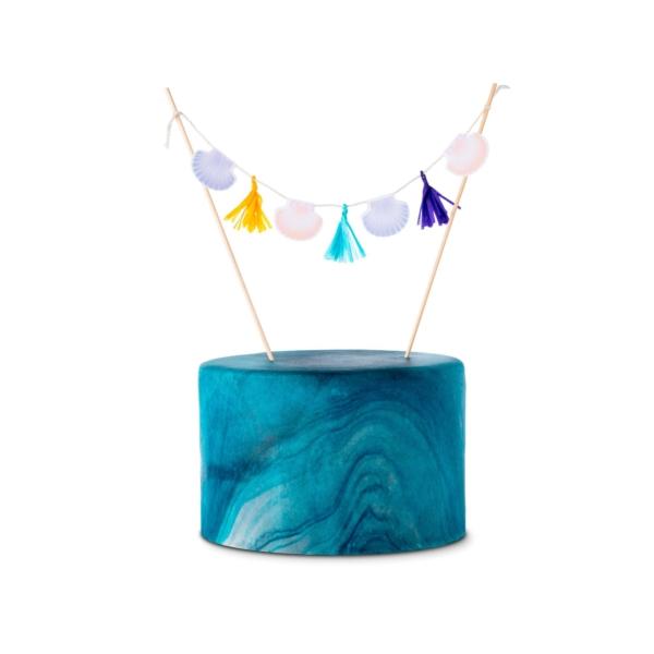 Cake-Topper-Meerjungfrau-Kuchen
