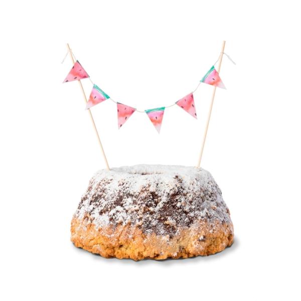 Cake-Topper-Wassermelone-Kuchen