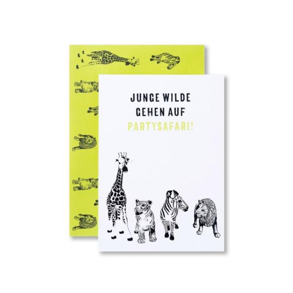Kindergeburtstag-Einladungskarte-WildeTiere-01