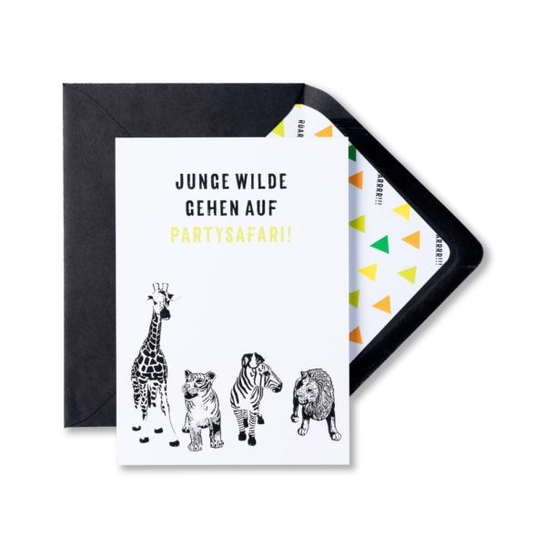 Kindergeburtstag-Einladungskarte-WildeTiere-personalisiert-03